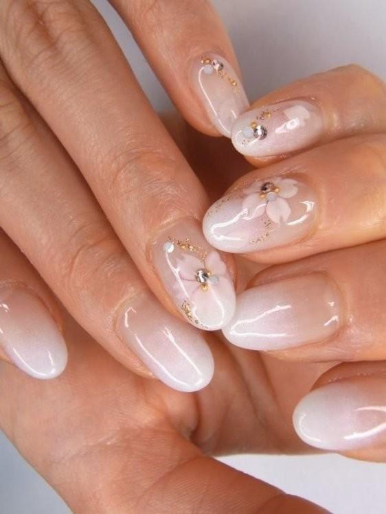 glitter-nail-art-ideas-45 89+ Glitter Nail Art Designs for Shiny & Sparkly Nails
