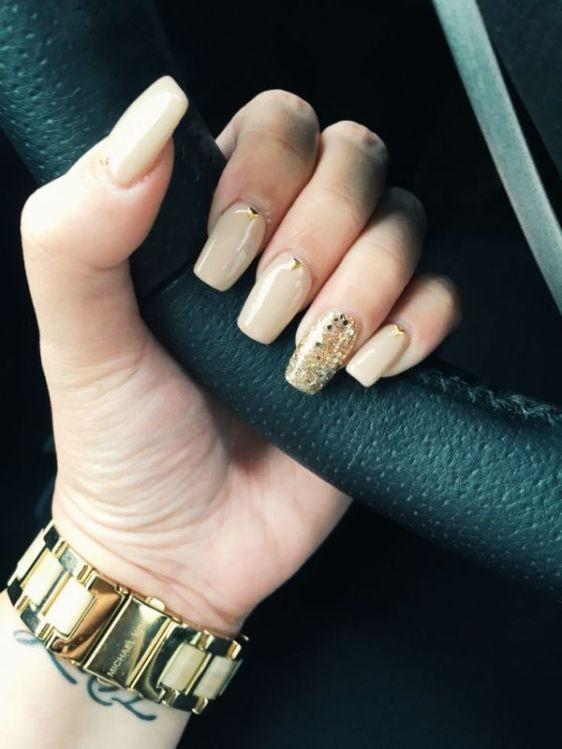 glitter-nail-art-ideas-47 89+ Glitter Nail Art Designs for Shiny & Sparkly Nails
