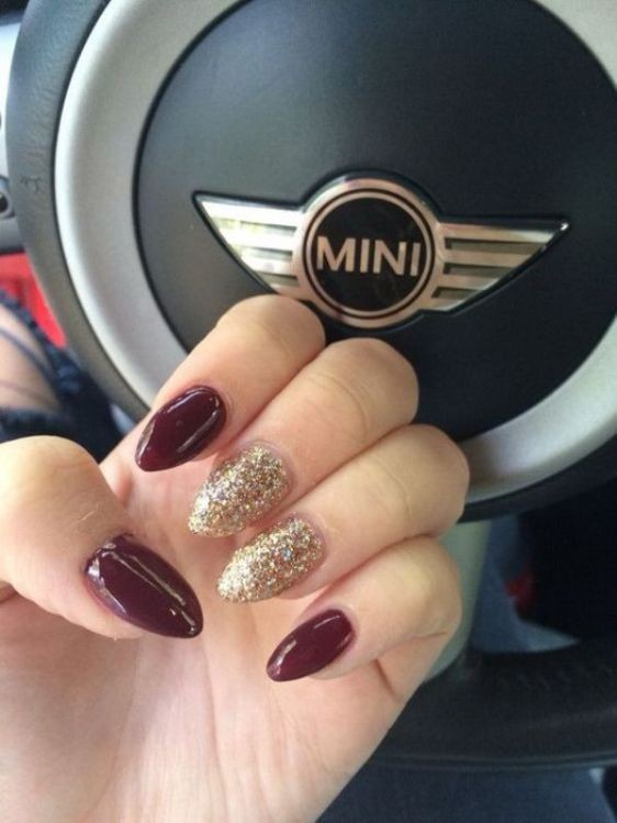 glitter-nail-art-ideas-52 11 Tips on Mixing Antique and Modern Décor Styles
