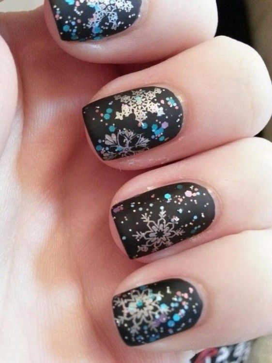 glitter-nail-art-ideas-57 89+ Glitter Nail Art Designs for Shiny & Sparkly Nails