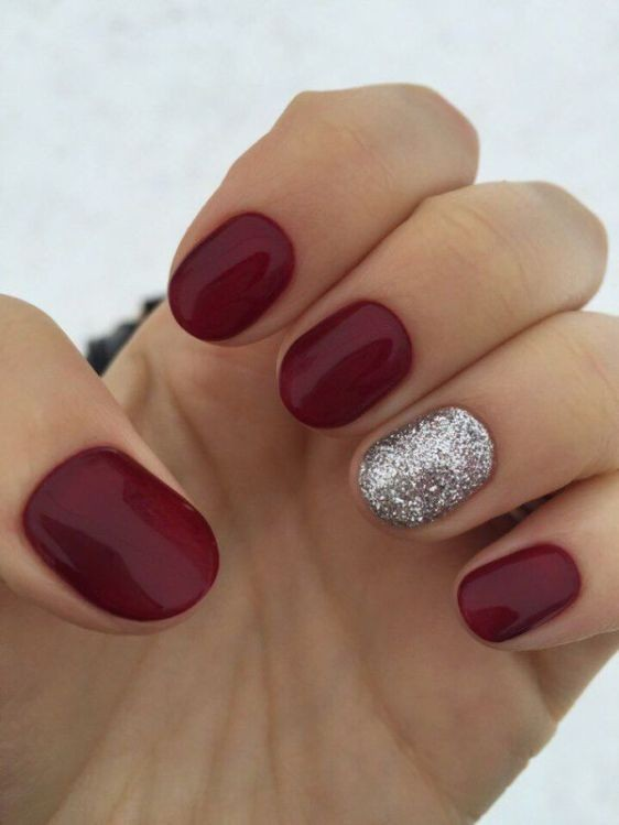 glitter-nail-art-ideas-58 89+ Glitter Nail Art Designs for Shiny & Sparkly Nails
