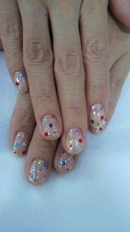 glitter-nail-art-ideas-6 89+ Glitter Nail Art Designs for Shiny & Sparkly Nails