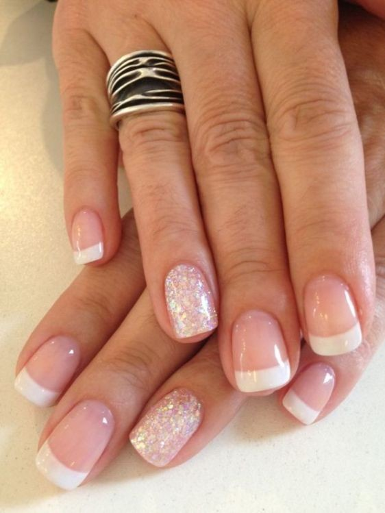 glitter-nail-art-ideas-62 11 Tips on Mixing Antique and Modern Décor Styles