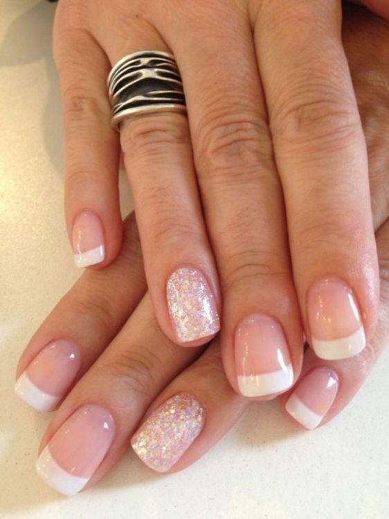 glitter-nail-art-ideas-62 89+ Glitter Nail Art Designs for Shiny & Sparkly Nails