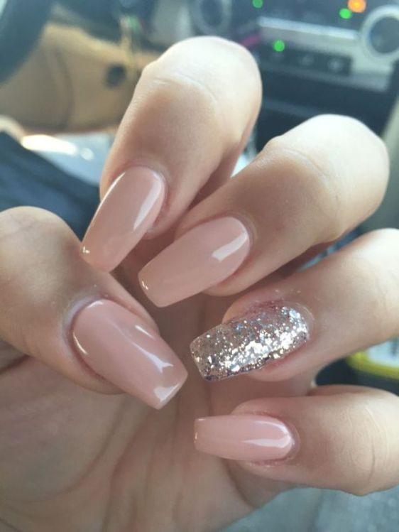 glitter-nail-art-ideas-65 89+ Glitter Nail Art Designs for Shiny & Sparkly Nails
