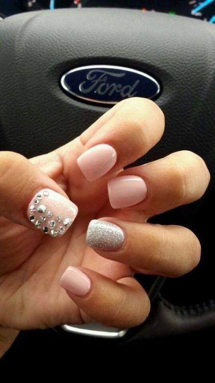 glitter-nail-art-ideas-7 89+ Glitter Nail Art Designs for Shiny & Sparkly Nails