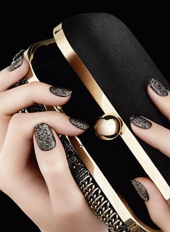 glitter-nail-art-ideas-74 89+ Glitter Nail Art Designs for Shiny & Sparkly Nails