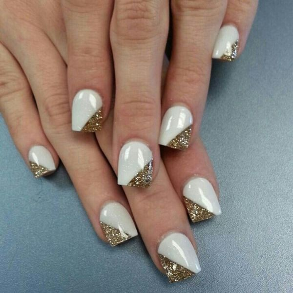 glitter-nail-art-ideas-79 11 Tips on Mixing Antique and Modern Décor Styles