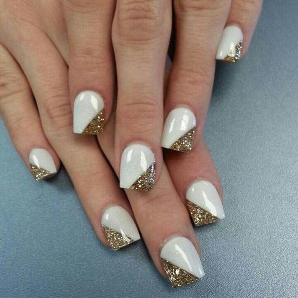 glitter-nail-art-ideas-79 89+ Glitter Nail Art Designs for Shiny & Sparkly Nails