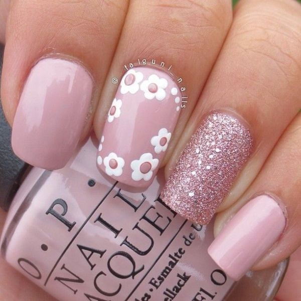 glitter-nail-art-ideas-80 89+ Glitter Nail Art Designs for Shiny & Sparkly Nails