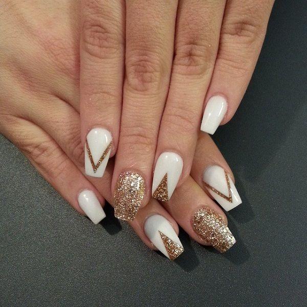 glitter-nail-art-ideas-83 89+ Glitter Nail Art Designs for Shiny & Sparkly Nails