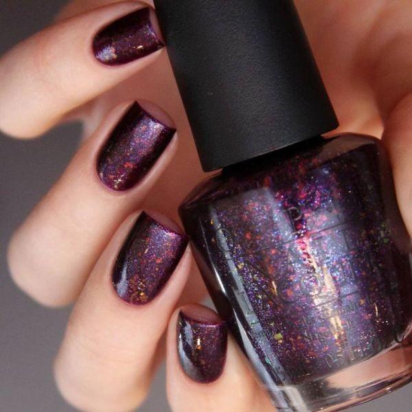 glitter-nail-art-ideas-84 89+ Glitter Nail Art Designs for Shiny & Sparkly Nails