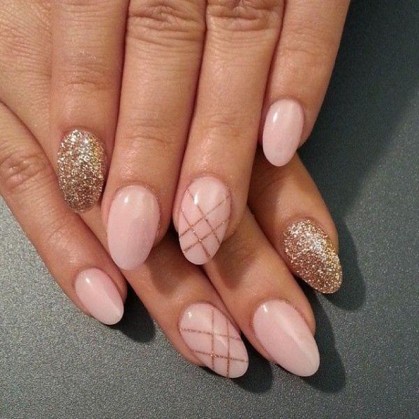 glitter-nail-art-ideas-85 89+ Glitter Nail Art Designs for Shiny & Sparkly Nails