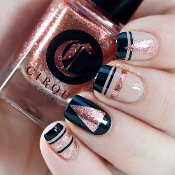 glitter-nail-art-ideas-86 89+ Glitter Nail Art Designs for Shiny & Sparkly Nails