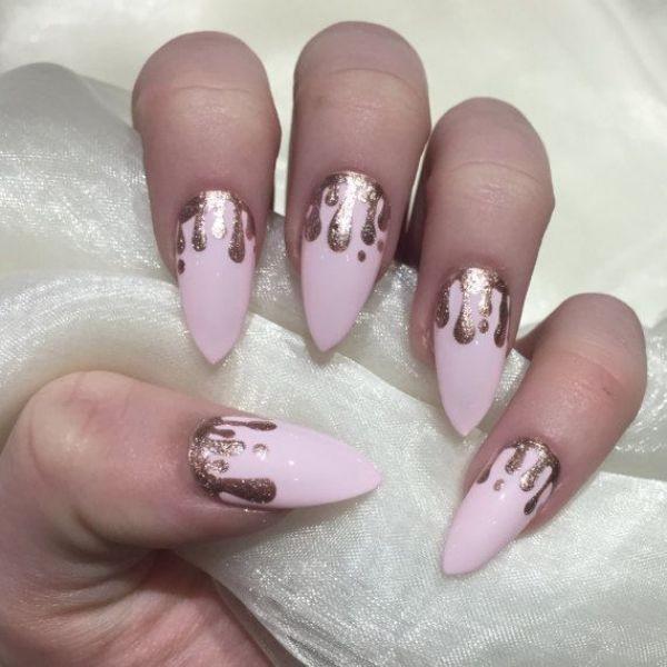 glitter-nail-art-ideas-87 89+ Glitter Nail Art Designs for Shiny & Sparkly Nails