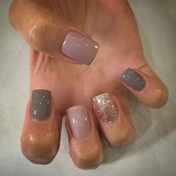 glitter-nail-art-ideas-88 89+ Glitter Nail Art Designs for Shiny & Sparkly Nails