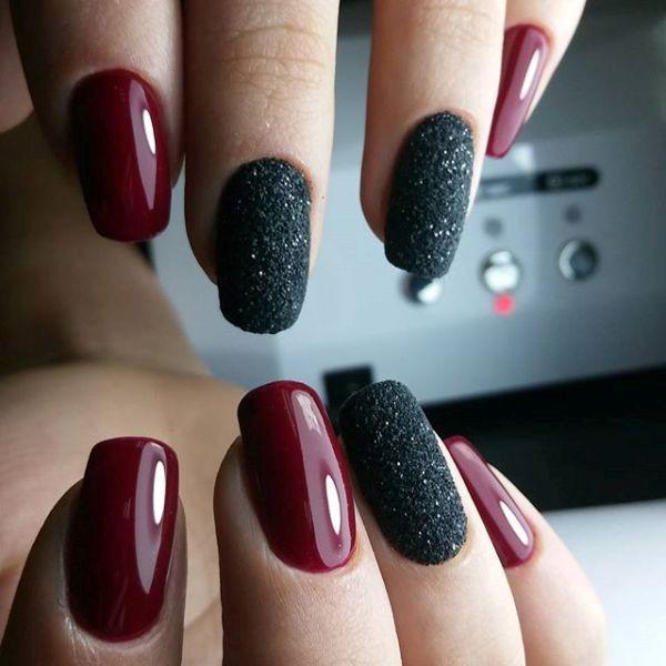 glitter-nail-art-ideas-89 89+ Glitter Nail Art Designs for Shiny & Sparkly Nails