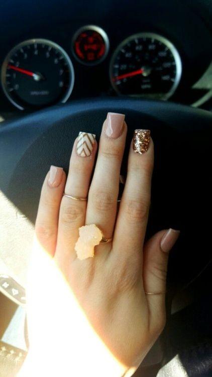 glitter-nail-art-ideas-9 89+ Glitter Nail Art Designs for Shiny & Sparkly Nails