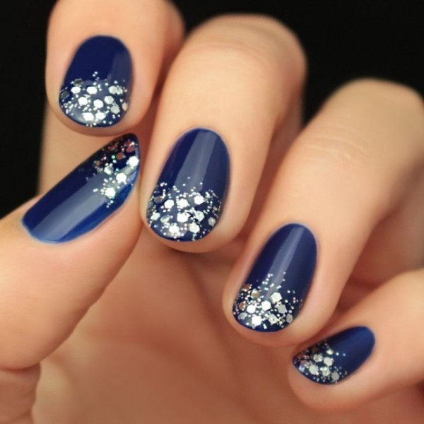 glitter-nail-art-ideas-94 89+ Glitter Nail Art Designs for Shiny & Sparkly Nails
