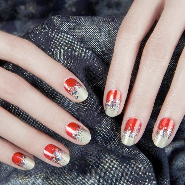 glitter-nail-art-ideas-95 89+ Glitter Nail Art Designs for Shiny & Sparkly Nails