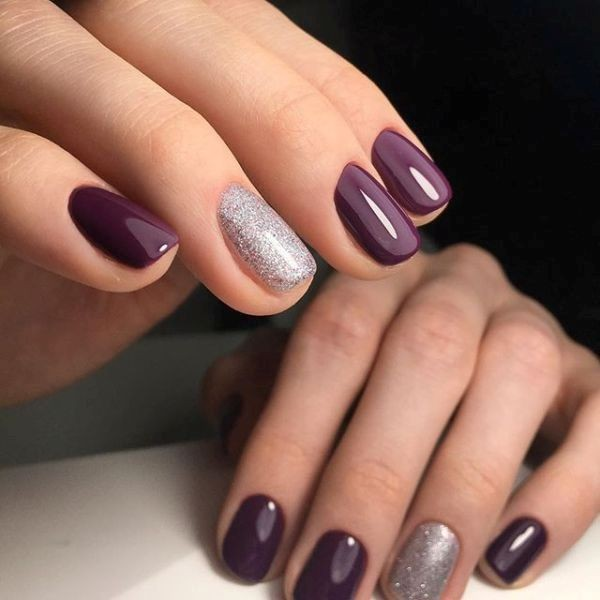 glitter-nail-art-ideas-96 89+ Glitter Nail Art Designs for Shiny & Sparkly Nails