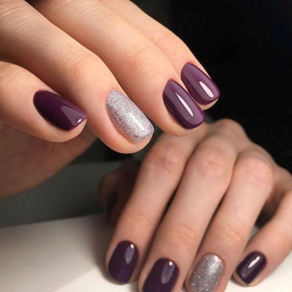 glitter-nail-art-ideas-96 89+ Glitter Nail Art Designs for Shiny & Sparkly Nails