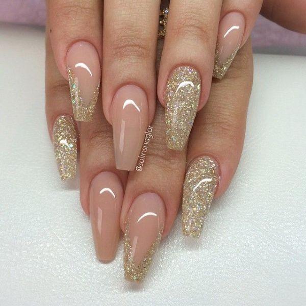 glitter-nail-art-ideas-97 89+ Glitter Nail Art Designs for Shiny & Sparkly Nails