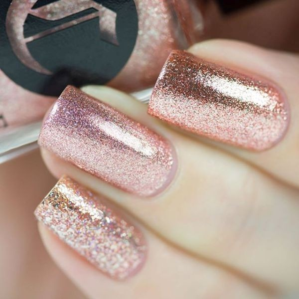 glitter-nail-art-ideas-99 89+ Glitter Nail Art Designs for Shiny & Sparkly Nails