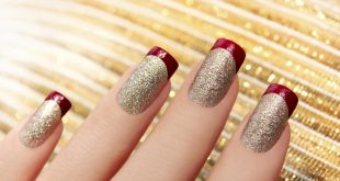 89+ Glitter Nail Art Designs for Shiny & Sparkly Nails