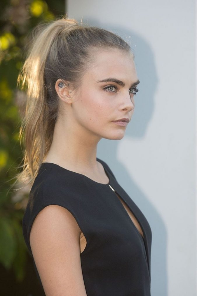 high-ponytail-hairstyle-sleek-ponytail-675x1013 16 Celebrity Hottest Hair Trends for Summer 2020