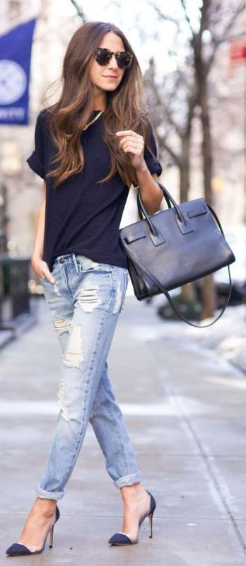 jeans-for-school-1 10+ Cool Back-to-School Outfit Ideas for 2018