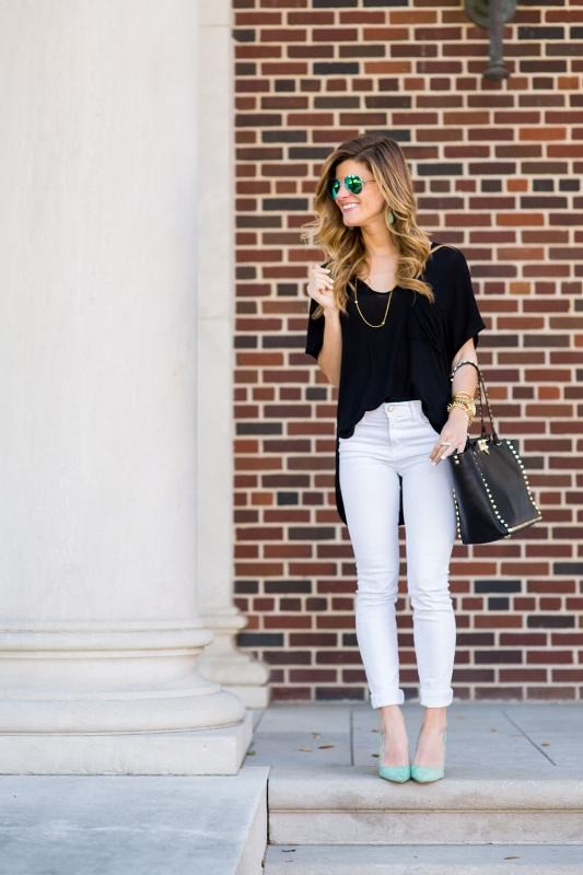 jeans-for-school-19 10+ Cool Back-to-School Outfit Ideas for 2018