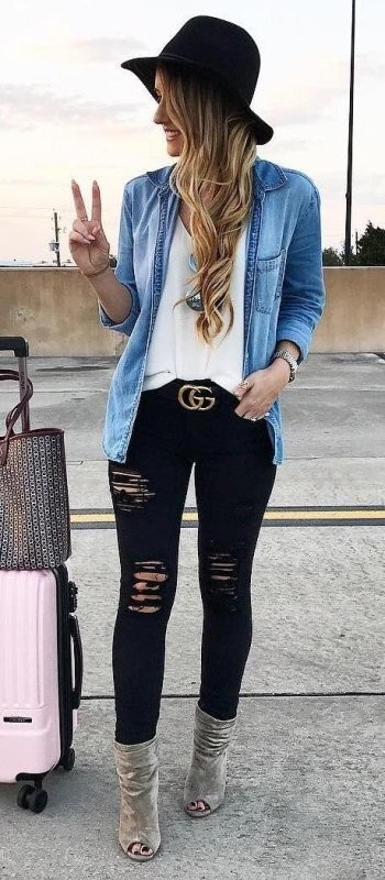 jeans-for-school-2 10+ Cool Back-to-School Outfit Ideas for 2017/2018