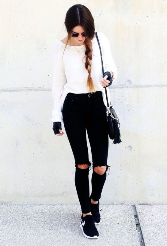 jeans-for-school-23 10+ Cool Back-to-School Outfit Ideas for 2017/2018