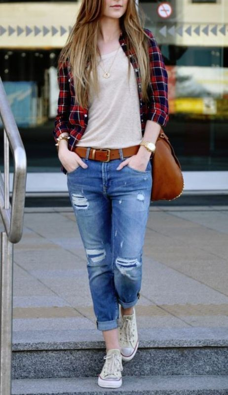 jeans-for-school-8 10+ Cool Back-to-School Outfit Ideas for 2020