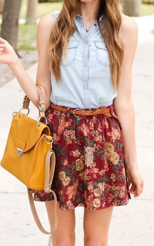 miniskirts-for-school-1 10+ Cool Back-to-School Outfit Ideas for 2020