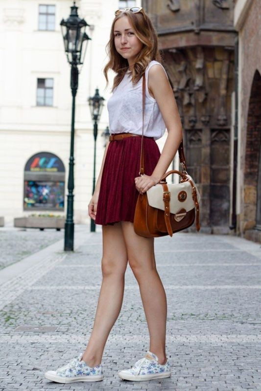 miniskirts-for-school-10 10+ Cool Back-to-School Outfit Ideas for 2018