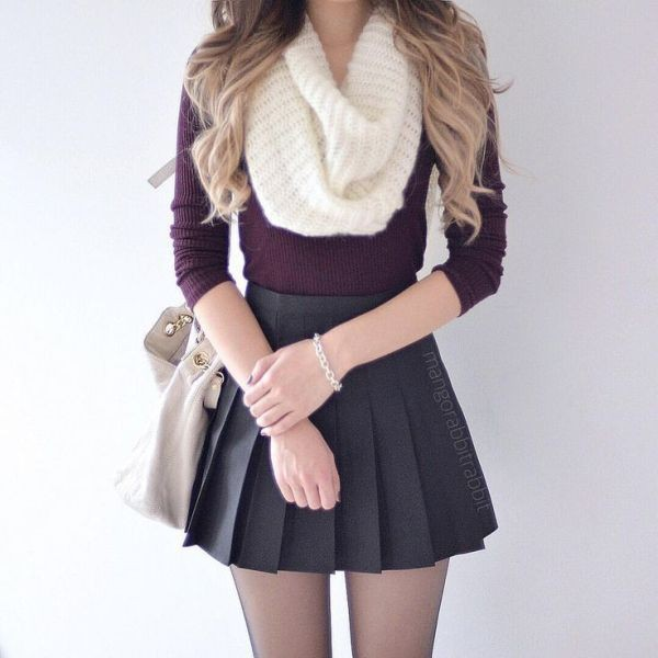 miniskirts-for-school-17 10+ Cool Back-to-School Outfit Ideas for 2018