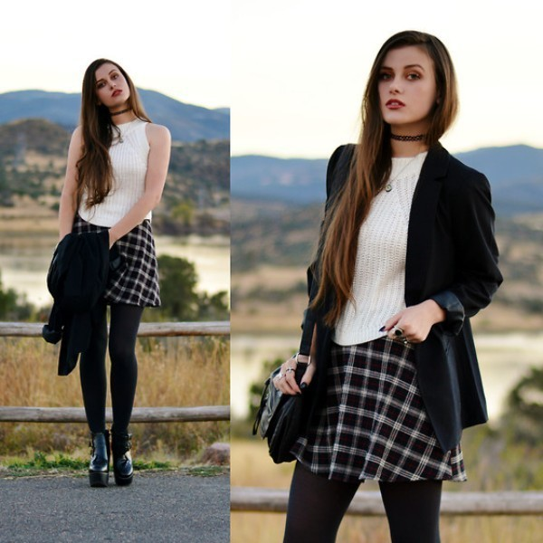 miniskirts-for-school-18 10+ Cool Back-to-School Outfit Ideas for 2018