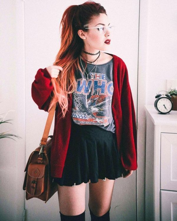 miniskirts-for-school-19 10+ Cool Back-to-School Outfit Ideas for 2018