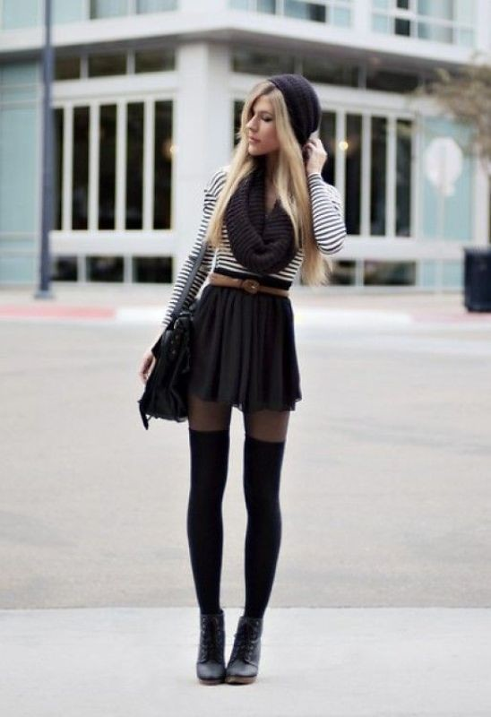 miniskirts-for-school-23 10+ Cool Back-to-School Outfit Ideas for 2018