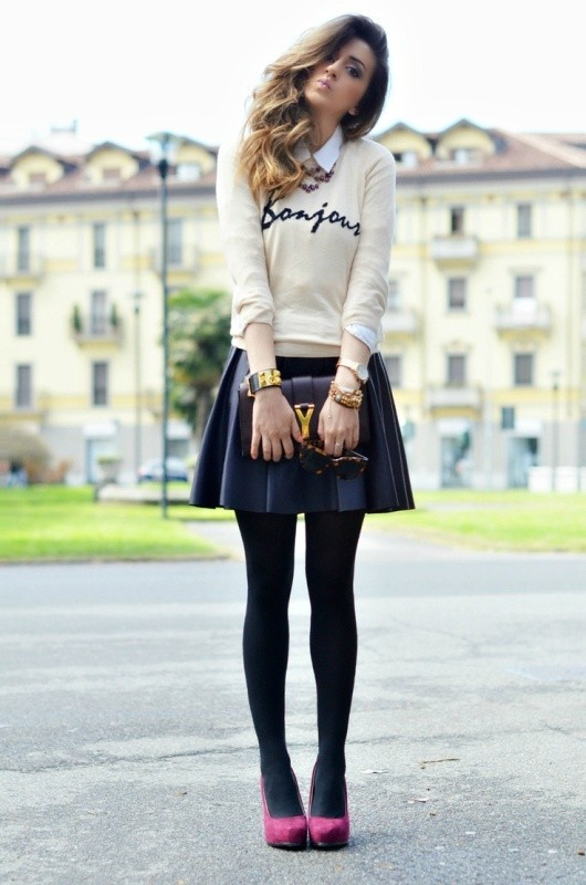 miniskirts-for-school-4 10+ Cool Back-to-School Outfit Ideas for 2020