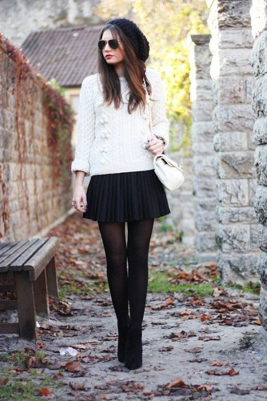 miniskirts-for-school-6 10+ Cool Back-to-School Outfit Ideas for 2018