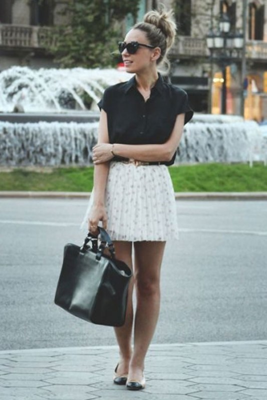 miniskirts-for-school-8 10+ Cool Back-to-School Outfit Ideas for 2018