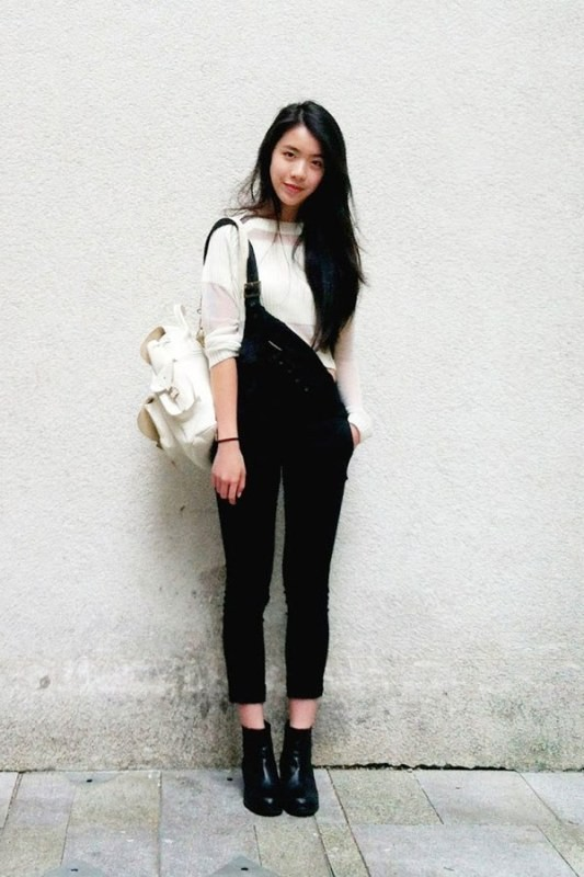 overalls-for-school-10 10+ Cool Back-to-School Outfit Ideas for 2018