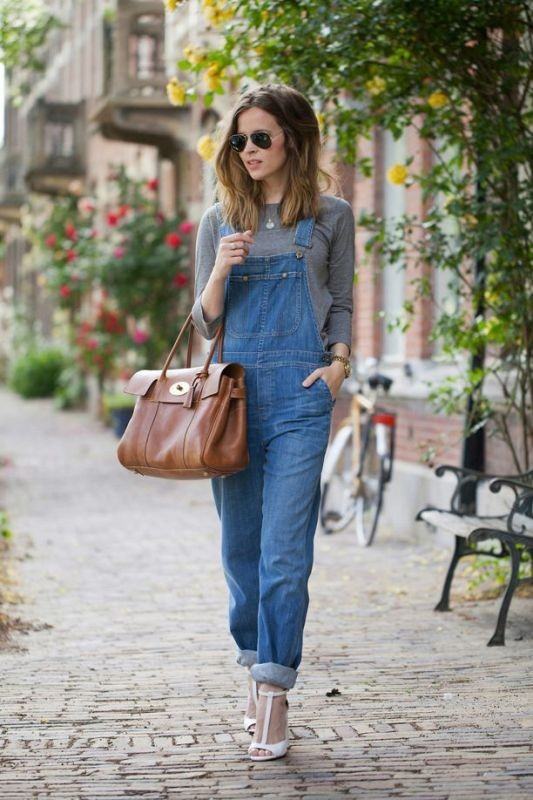 overalls-for-school-11 10+ Cool Back-to-School Outfit Ideas for 2020