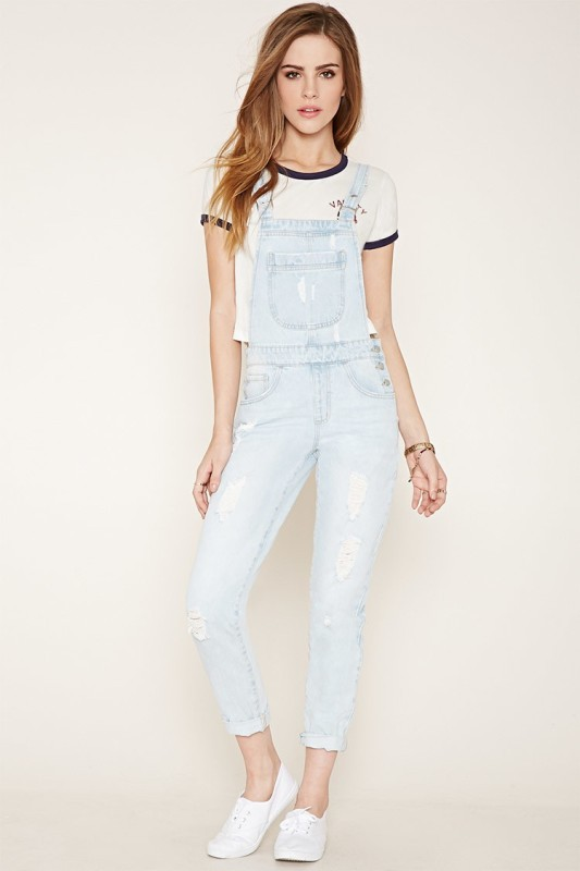 overalls-for-school-13 10+ Cool Back-to-School Outfit Ideas for 2017/2018