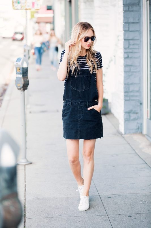 overalls-for-school-14 10+ Cool Back-to-School Outfit Ideas for 2018