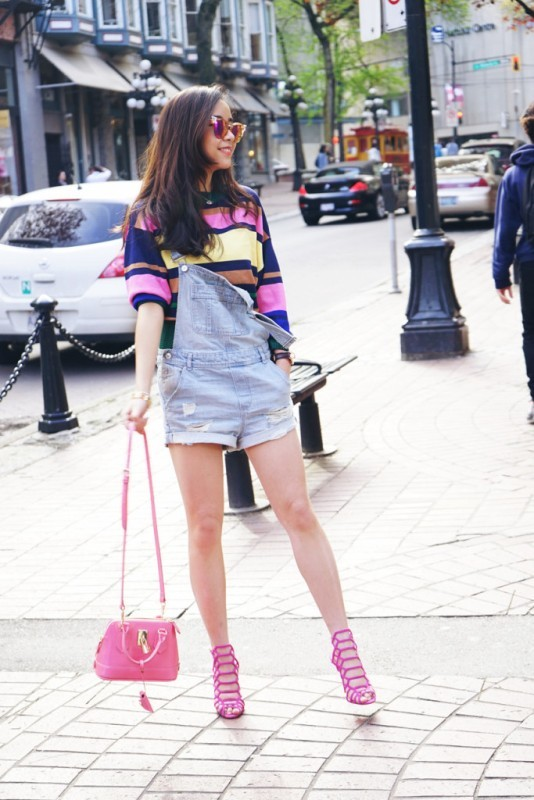 overalls-for-school-16 10+ Cool Back-to-School Outfit Ideas for 2020