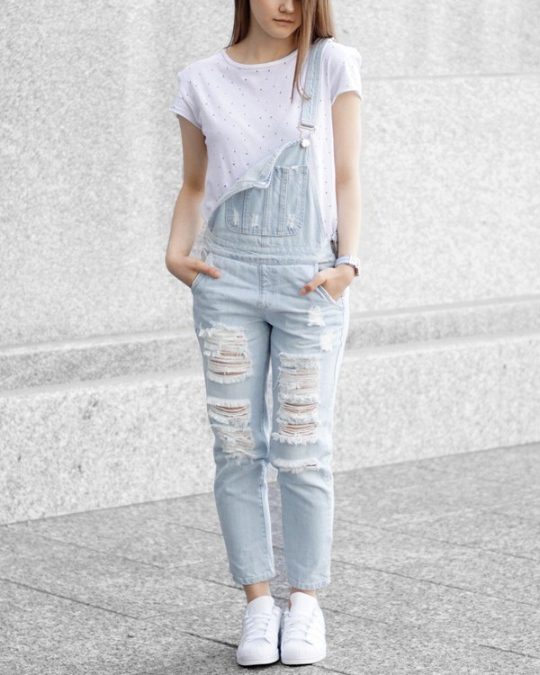 overalls-for-school-25 10+ Cool Back-to-School Outfit Ideas for 2020